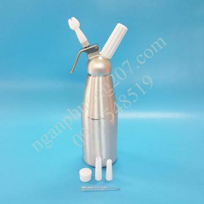 Bình xịt kem tươi CreamWhipper 1 lít hợp kim nhôm