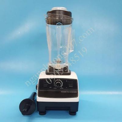 Máy xay sinh tố công nghiệp German G5200 2200W, cối trắng 2 lít dao 8 lưỡi
